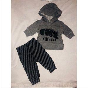 Newborn boy outfit